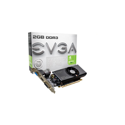 EVGA NVIDIA GeForce GT 740 2 GB NVIDIA GeForce GT 740 2048GB (02G-P4-2740-KR)