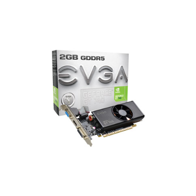 EVGA NVIDIA GeForce GT 740 2 GB NVIDIA GeForce GT 740 2048GB (02G-P4-3740-KR)