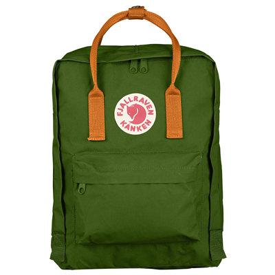 Fjällräven Kånken leaf green/burnt orange