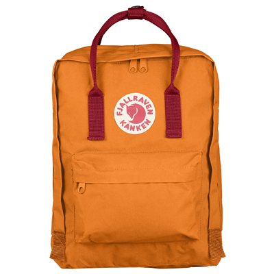 Fjällräven Kånken burnt orange/deep red