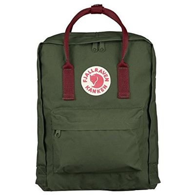 Fjällräven Kånken forest green/ox red
