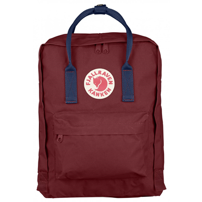 Fjällräven Kånken ox red/royal blue