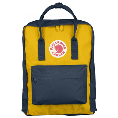 Fjällräven Kånken navy/warm yellow