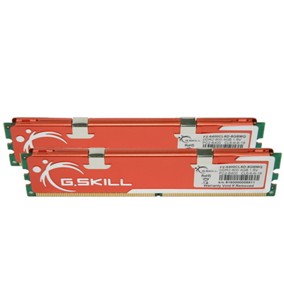 G.Skill DIMM 8 GB DDR2-800 Kit (F2-6400CL6D-8GBMQ)