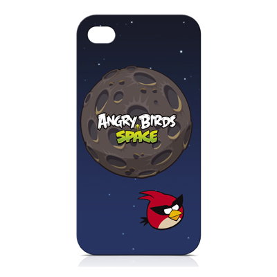 GEAR4 Angry Birds Space Flight iPhone 4/4S (Soft Touch)