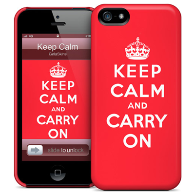 GelaSkins Keep Calm iPhone 5 THC