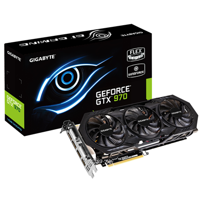 Gigabyte GV-N970WF3-4GD NVIDIA GeForce GTX 970 4GB