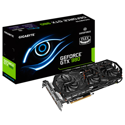Gigabyte GV-N980WF3-4GD NVIDIA GeForce GTX 980 4GB