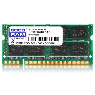 Goodram 2GB PC2-6400 (GR800S264L6/2G)
