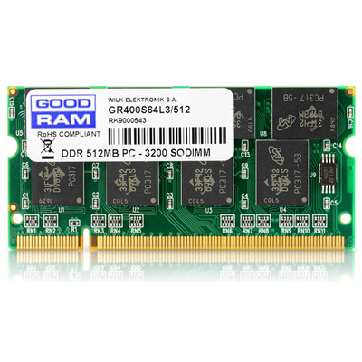 Goodram 512MB PC-3200 (GR400S64L3/512)