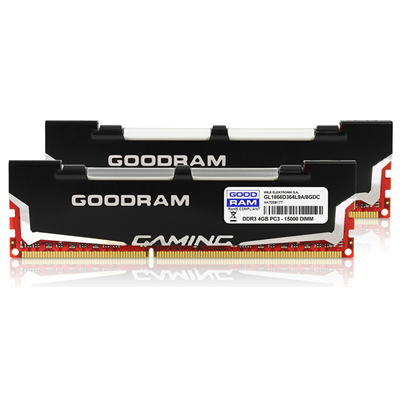 Goodram LEDLIGHT 2x4GB DDR3 (GL1866D364L9A/8GDC)