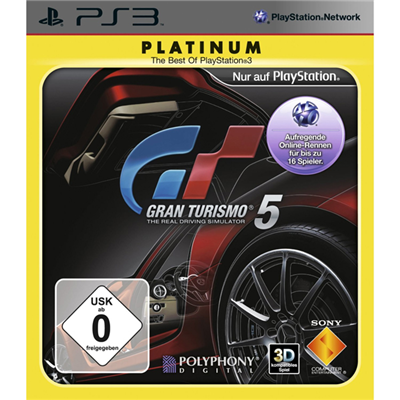 Gran Turismo 5 Platinum, PS3