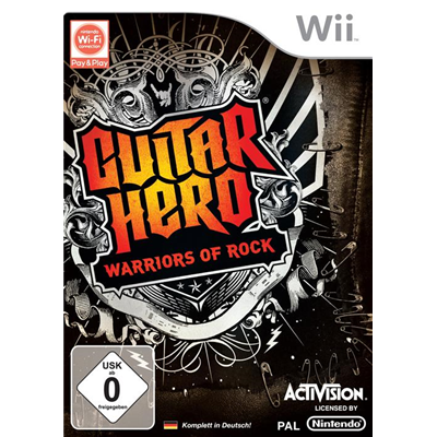 Guitar Hero 6: Warriors of Rock, Wii