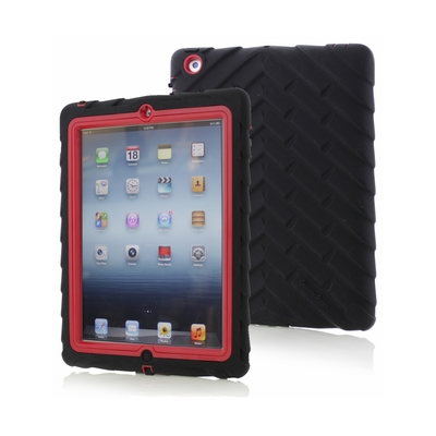 Gumdrop Cases Drop Tech (DS-IPAD3-BLK-RED)