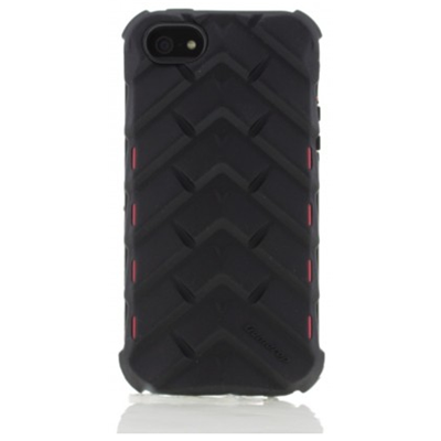 Gumdrop Cases DS5G-BLK-RED