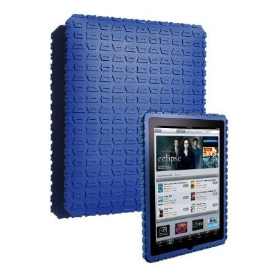 Gumdrop Cases MOTO-IPAD-BLU