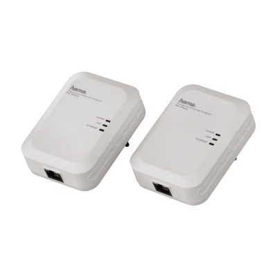 Hama Powerline-LAN-Set 85Mbps weiss (00053139)