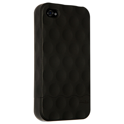 Hard Candy Cases Bubble Slider iPhone 4 (BS4G-SFT-BLK)