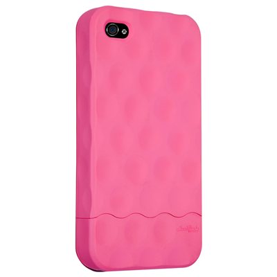Hard Candy Cases Bubble Slider iPhone 4 (BS4G-SFT-PNK)