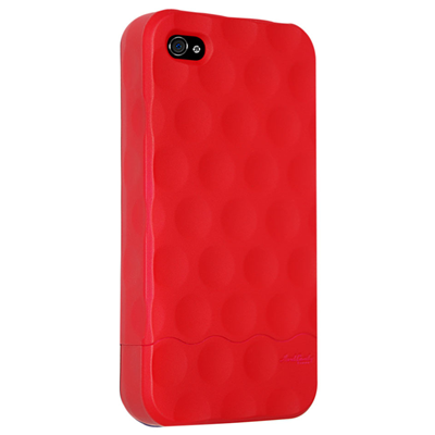 Hard Candy Cases Bubble Slider iPhone 4 (BS4G-SFT-RED)