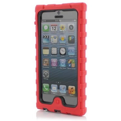 Hard Candy Cases SD-IPH5C-RED-BLK