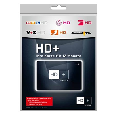 HD-Plus HD+ Karte 12 Monate
