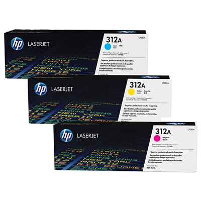 HP 312A CMY (CF440AM)