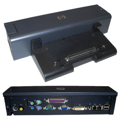 HP SP/CQ Port Replicator Silver nc6100