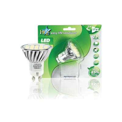 HQ L-GU10-05 energy-saving lamp
