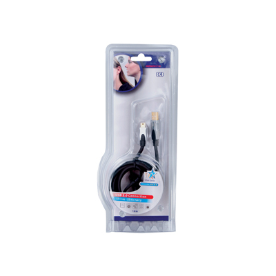 HQ USB-A/mini USB-B, 1.8m