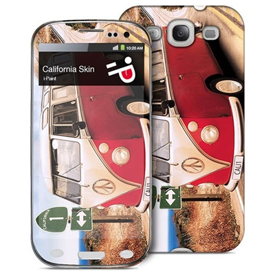 i-Paint California Case+Skin
