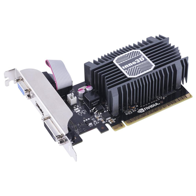 Inno3D GeForce GT 730 1GB NVIDIA GeForce GT 730 1GB (N730-1SDV-D3BX)