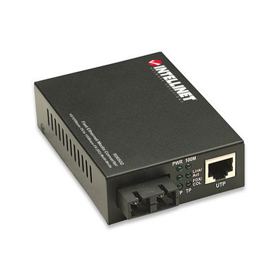 Intellinet 506502 network media converter