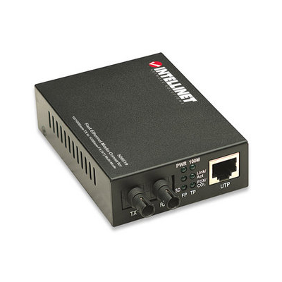 Intellinet 506519 network media converter