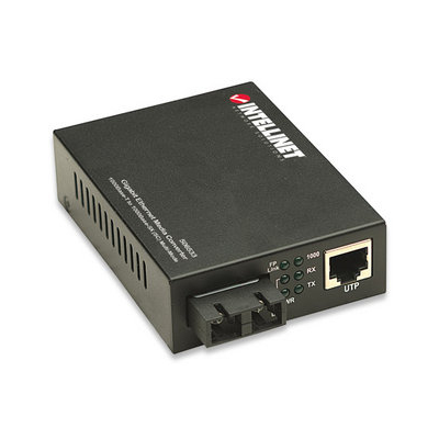 Intellinet 506533 network media converter