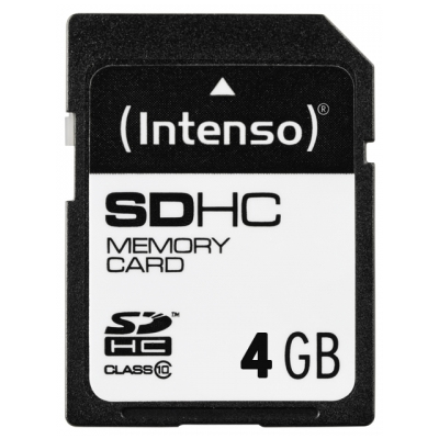 Intenso 4GB SDHC (3411450)