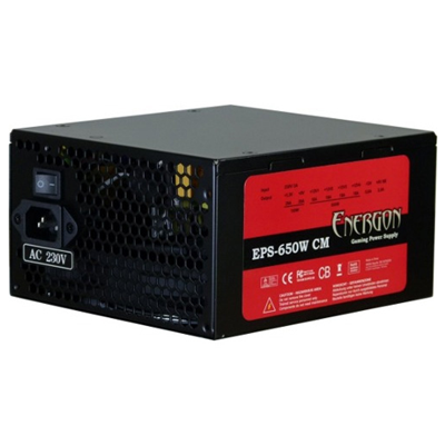 Inter-Tech Energon EPS-650W CM
