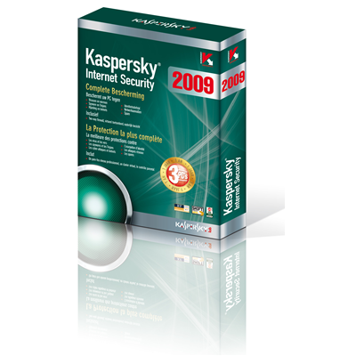 Kaspersky Lab Internet Security 2009, 1u, 1Y, FR