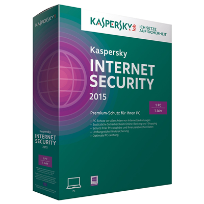 Kaspersky Lab Internet Security 2015 (KL1861GBAFS)
