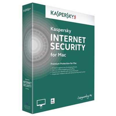 Kaspersky Lab Internet Security for Mac 2015 (KL1227GCADS)
