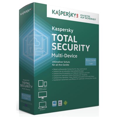 Kaspersky Lab Total Security Multi-Device (KL1919GCAFR)