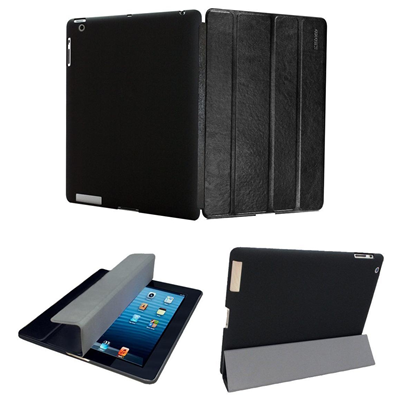 KHOMO IPAD3-DUAL-LEATHER