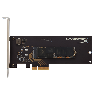Kingston Technology HyperX Predator SSD PCIe 480GB (SHPM2280P2/480G)