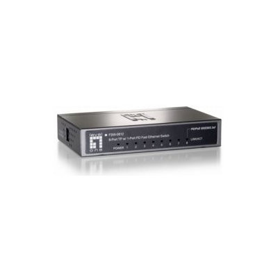 LevelOne 8-Port 10/100 PD Switch (FSW-0812)