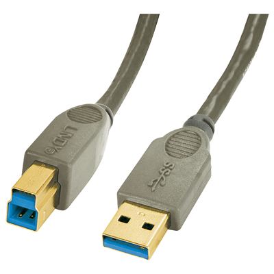 Lindy 0.5 m USB 3.0 A/B