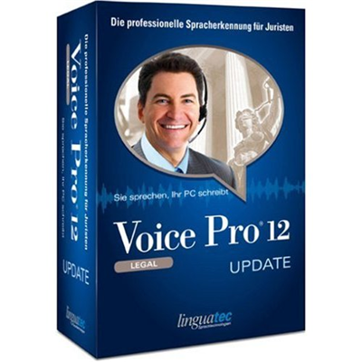 Linguatec Voice Pro 12 Legal Edition, Update