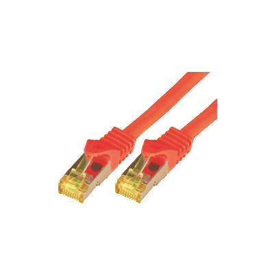 M-Cab CAT7 S-FTP-PIMF-LSZH-0.25M-YEL RAW CABLE-26/7-RJ45-4P-600MHZ