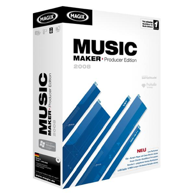 Magix Music Maker 2008 Producer Edition (617100)