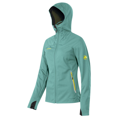 Mammut Ultimate Hoody Women fiji-sunglow