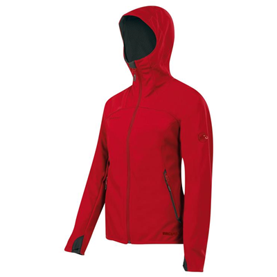 Mammut Ultimate Hoody Women inferno-black